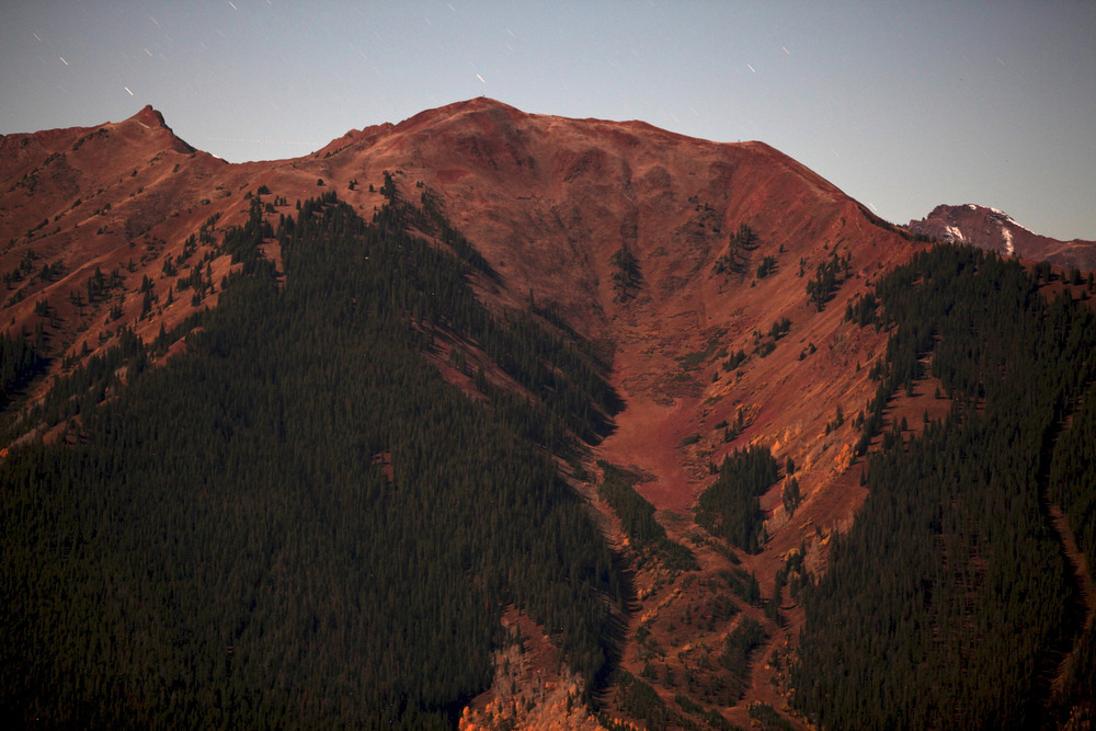 Highland Bowl under a full moon - ©Tim Shisler