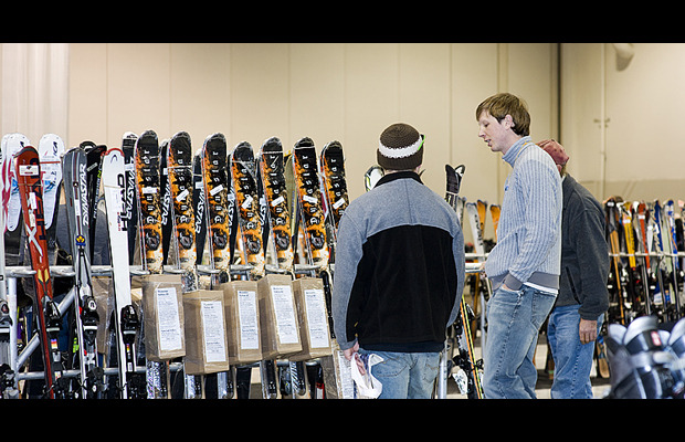The Calgary Snow Show offers clearance deals on gear. Photo courtesy of CanWest Productions.