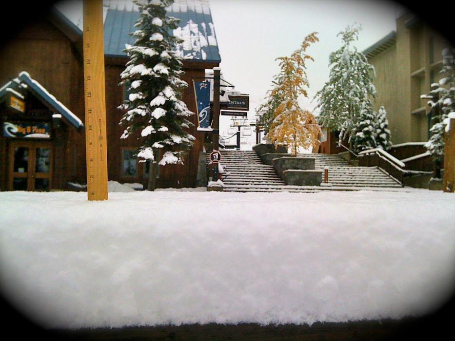 October snow at the Summit at Snoqualmie. Photo: Summit at Snoqualmie/Facebook