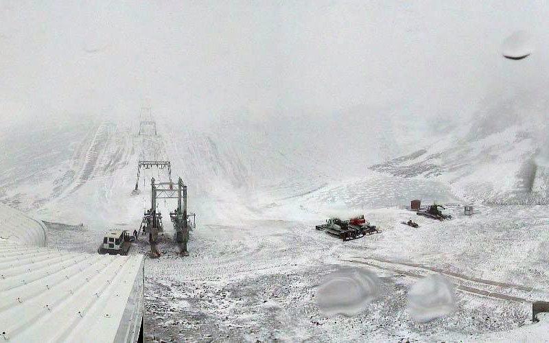 Les 2 Alpes - October 26th 2012 - ©Service des pistes des 2 Alpes