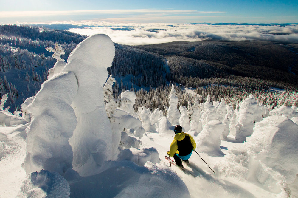 Fresh powder at Big White - ©Big White Ski Resort