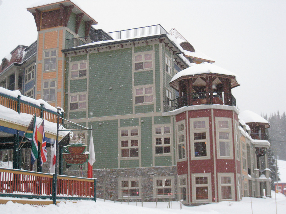 The Snowbird Lodge sits in Silver Star's village. Photo by Becky Lomax.