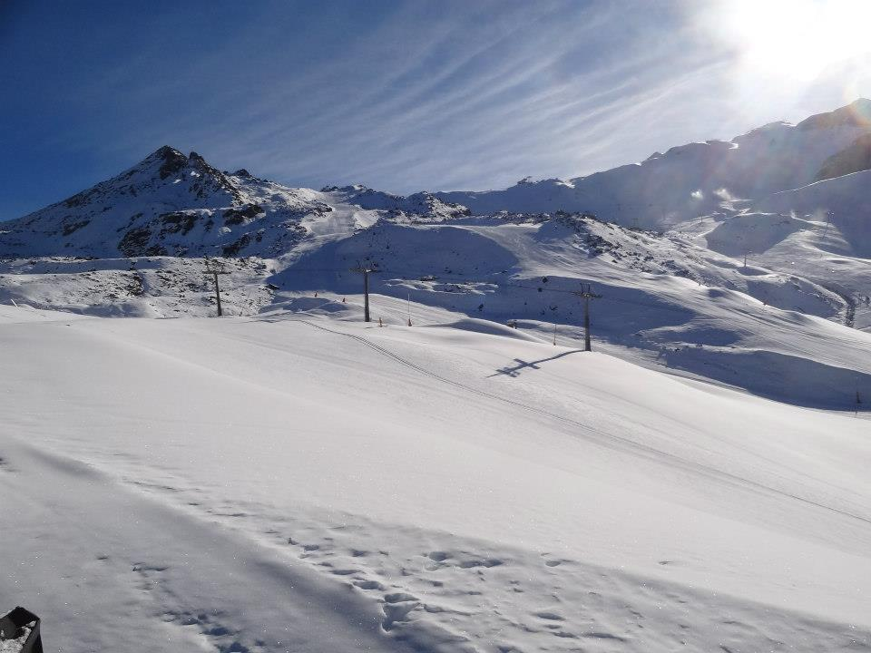 Good layer of snow on Ischgl's slopes. Photo taken Nov. 20, 2012