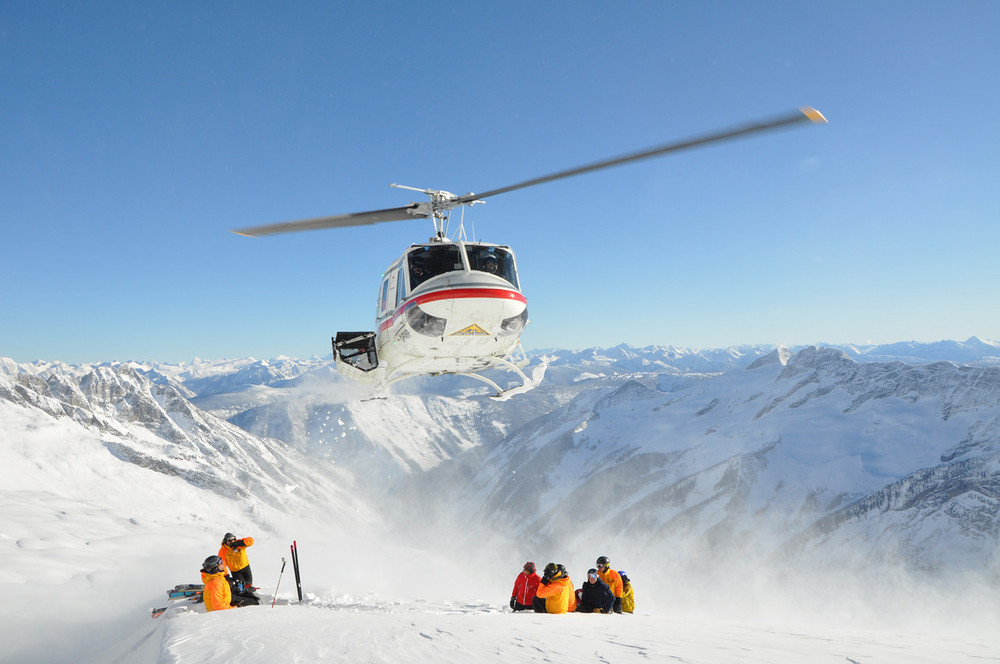 The Heli at CMH Heli-Skiing