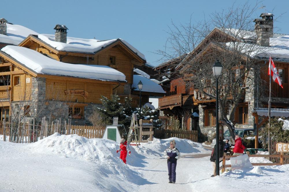 Skiing at La Plagne, FRA - ©OT La Plagne
