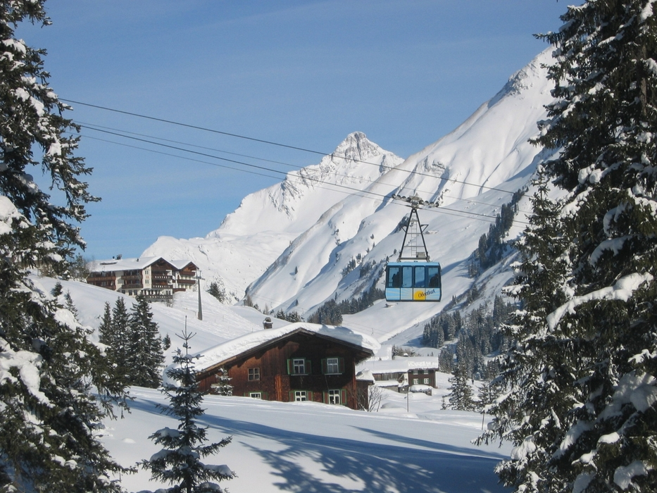 Oberlech, Arlberg ski area
