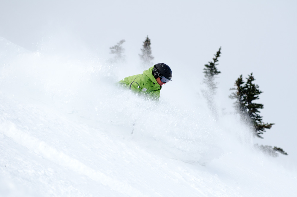 Whistler Blackcomb: powder days. Photo by Paul Morrison, courtesy of Whistler Blackcomb.