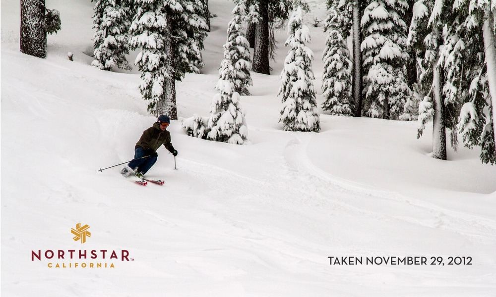Good snow and more trail openings at Northstar California.