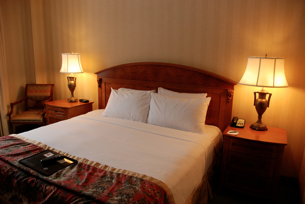 Chateau Lake Louise offers luxury rooms. Photo by Becky Lomax.