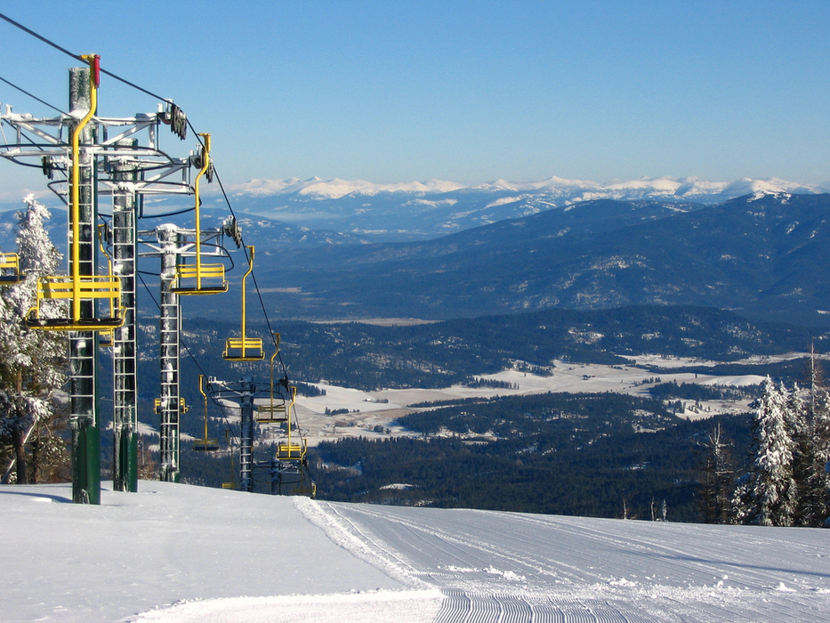 Mt. Spokane Ski Area above Spokane Valley.Photo by Junaid Duwad/Flickr