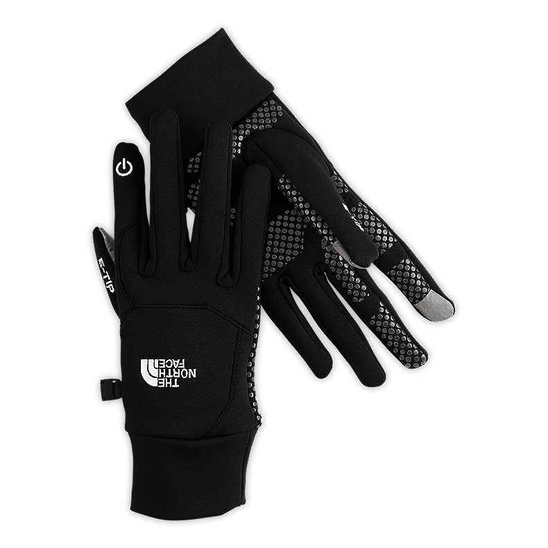 The North Face Etip Glove Liner - The North Face Etip Glove Liner allows you to use touchscreens without having to expose your hands to the cold. It can be used as a liner for under your ski gloves or alone as a light glove for driving. $45. - Steve Kopitz, Skis.com. - ©Skis.com