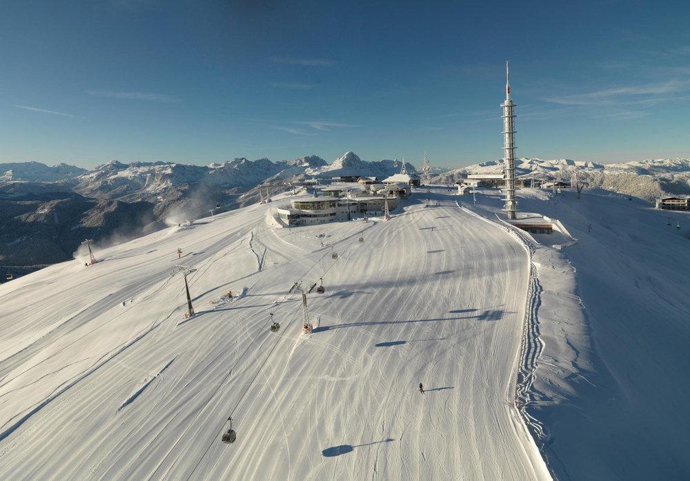 Skiing at Plan de Corones (ITA) - ©Georg Tappeiner