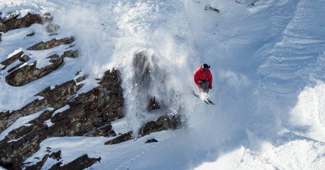 Big air, big lines. Big mountain skiing at its finest.