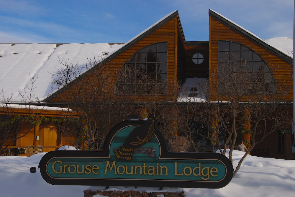 Grouse Mountain Lodge in Whitefish, Montana. Photo by Becky Lomax.