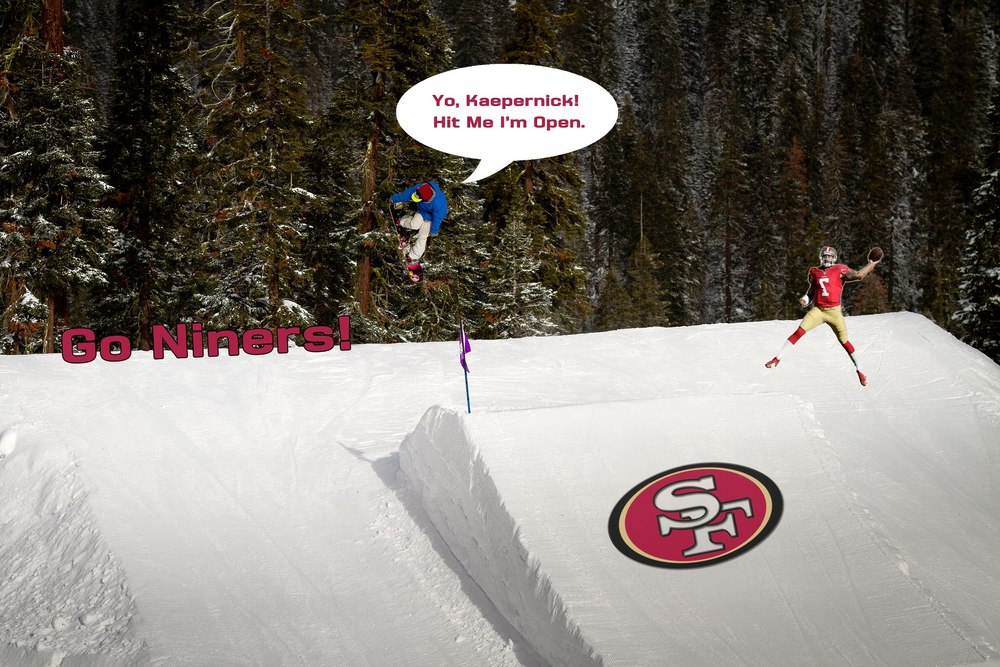 49ers are going to the Super Bowl! Check out the game at Sierra-at-Tahoe on Sunday, Feb 3, 2013