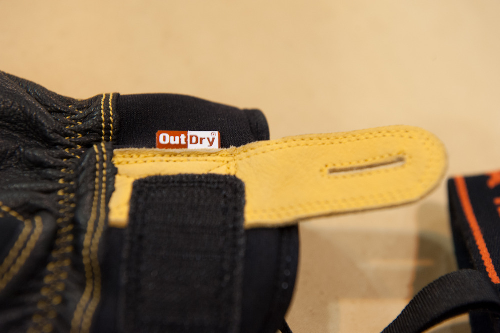 Outdry technology from Hestra Gloves.
