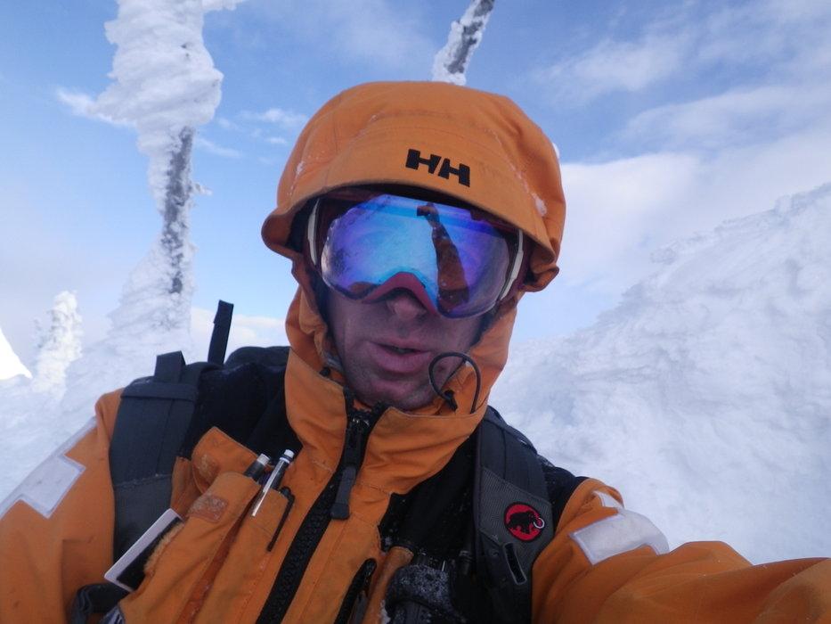 Ski patroller, Steve Ruskay - ©Steve Ruskay