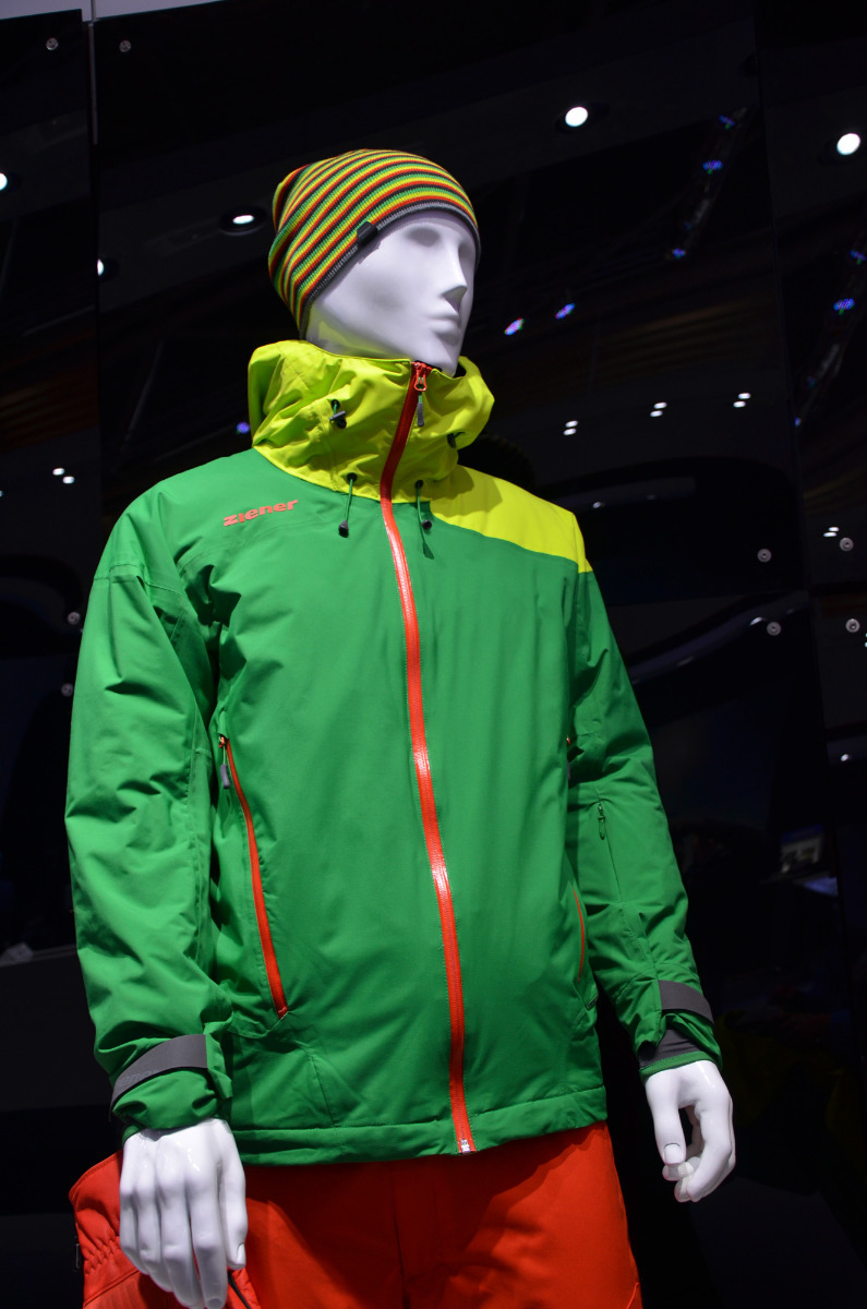 Ziener's new All Mountain jacket features a separable inner lining