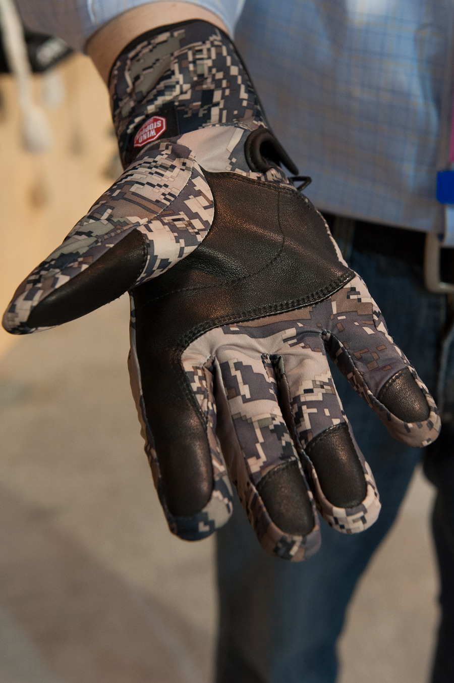 The Seirus next generation Windstopper glove is seamless on the inside, as opposed to other Windstopper gloves on the market for 2013/2014. - ©Ashleigh Miller Photography