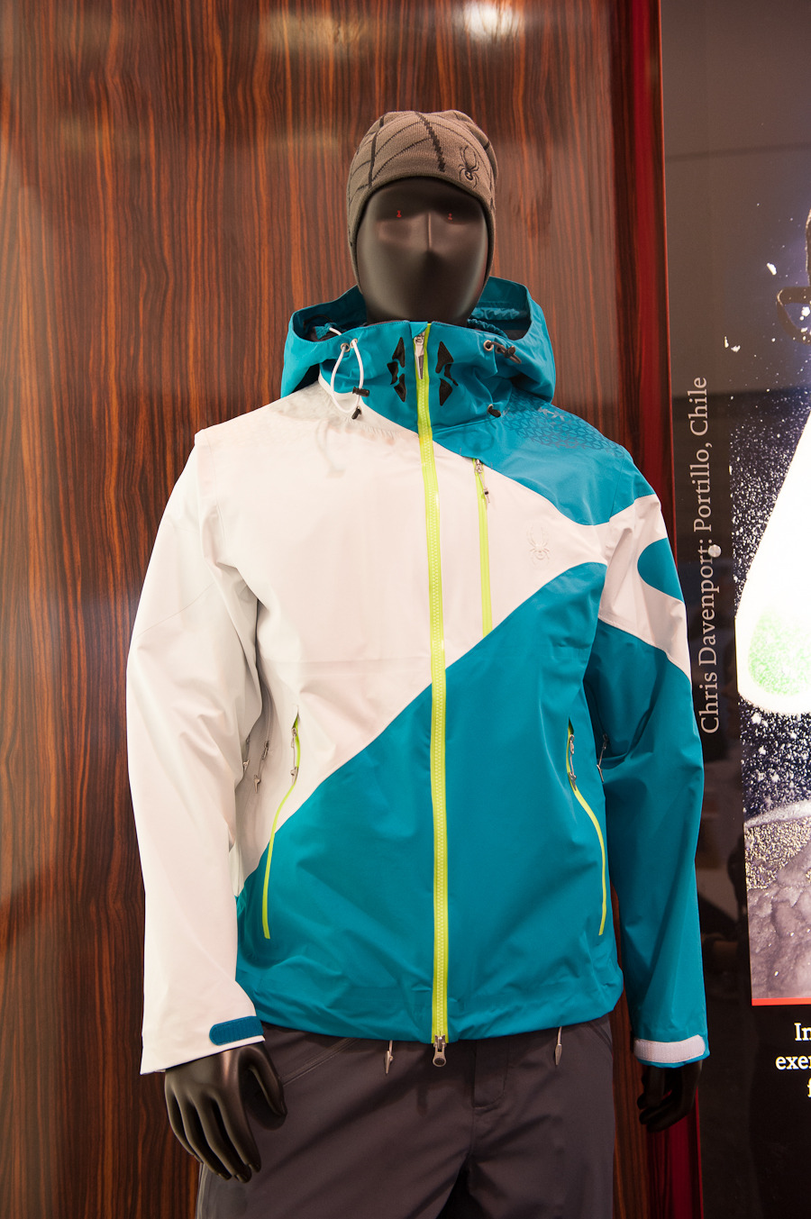 The Chris Davenport Eiger Shell Jacket from Spyder.