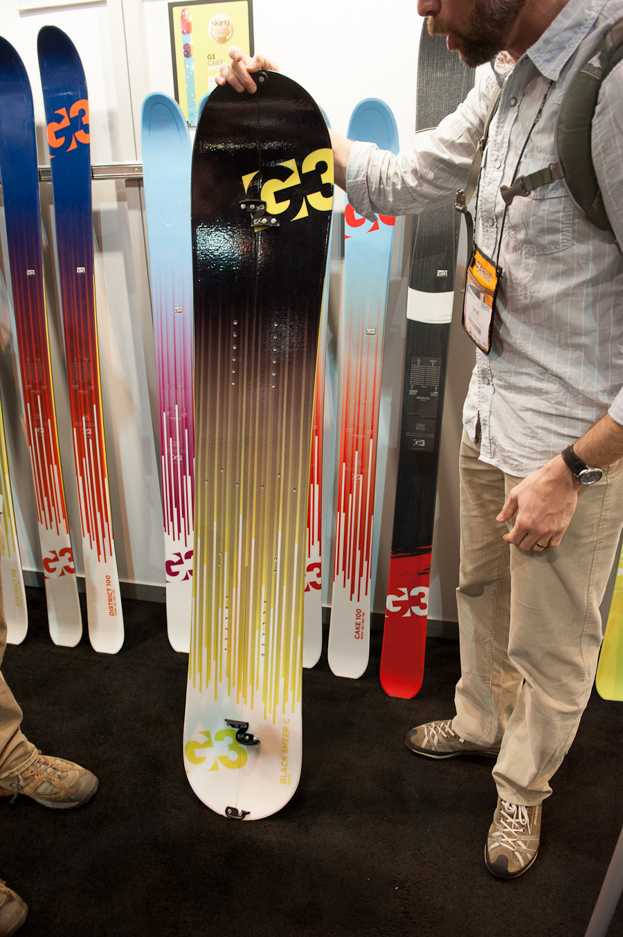 The G3 Splitboard is for those snowboarders looking to travel into the backcountry.