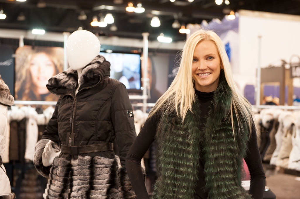 The fashion portion of skiing was on display at SIA 2013. - ©Ashleigh Miller Photography