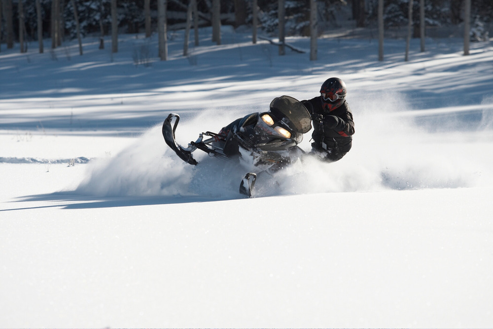 Snowmobile tours are offered at Sunlight Mountain Resort. - ©Photo courtesy Sunlight Mountain Resort.