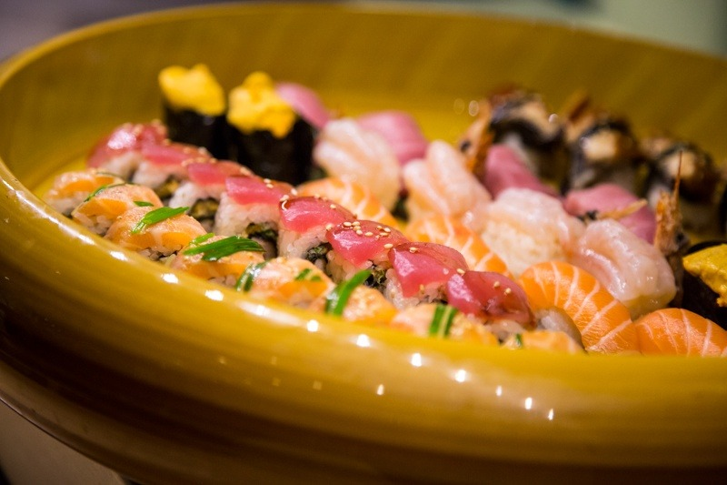 Matushia is known for its world-class sushi.