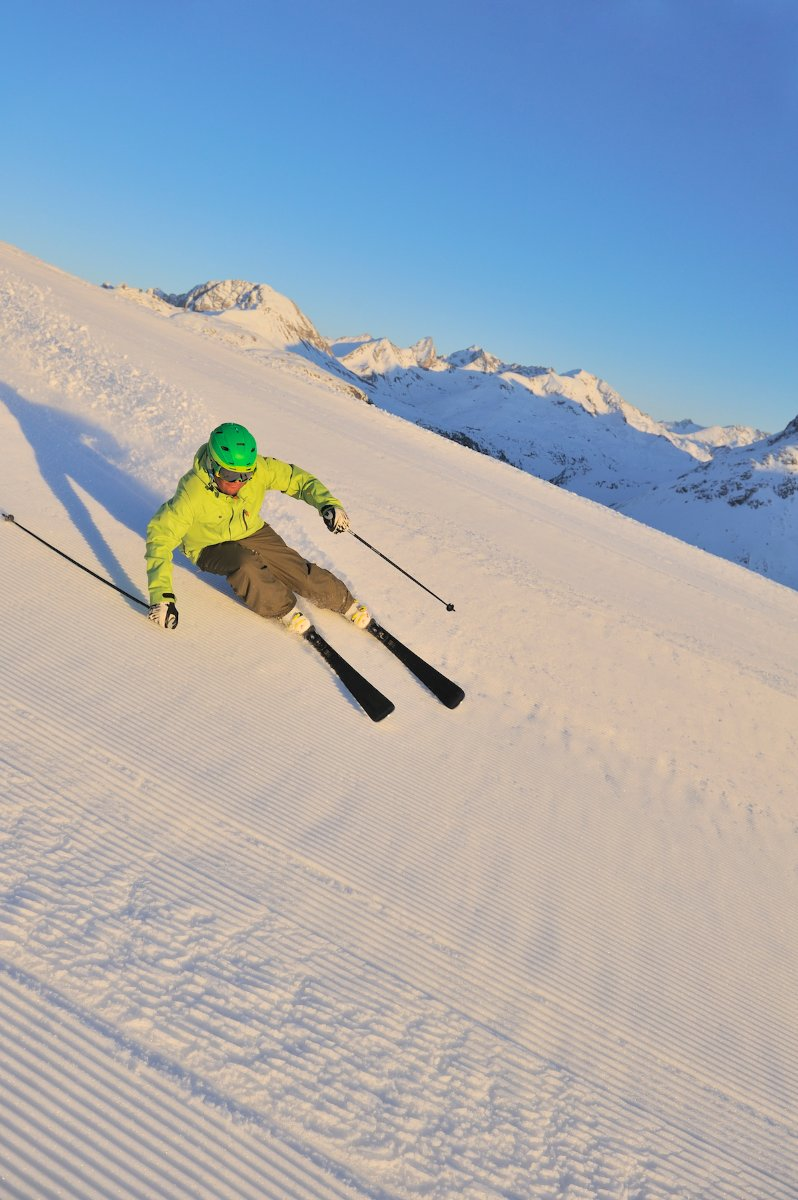 Skiing in Lech Zuers / Arlberg