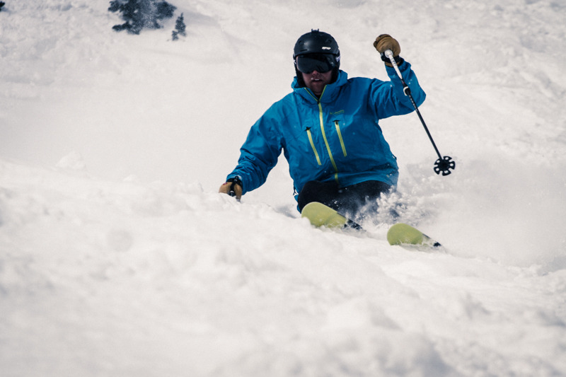 Our ski testers enjoyed new Leki Poles while testing at Snowbird. - ©Liam Doran