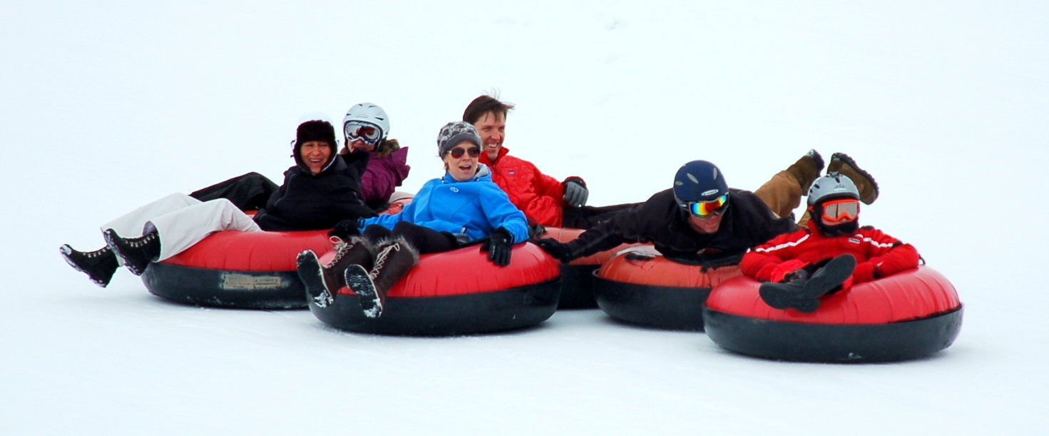 The tubing hill at Saddleback Ranch is just outside of Steamboat Springs. - ©Photo courtesy Shannon Lukens.