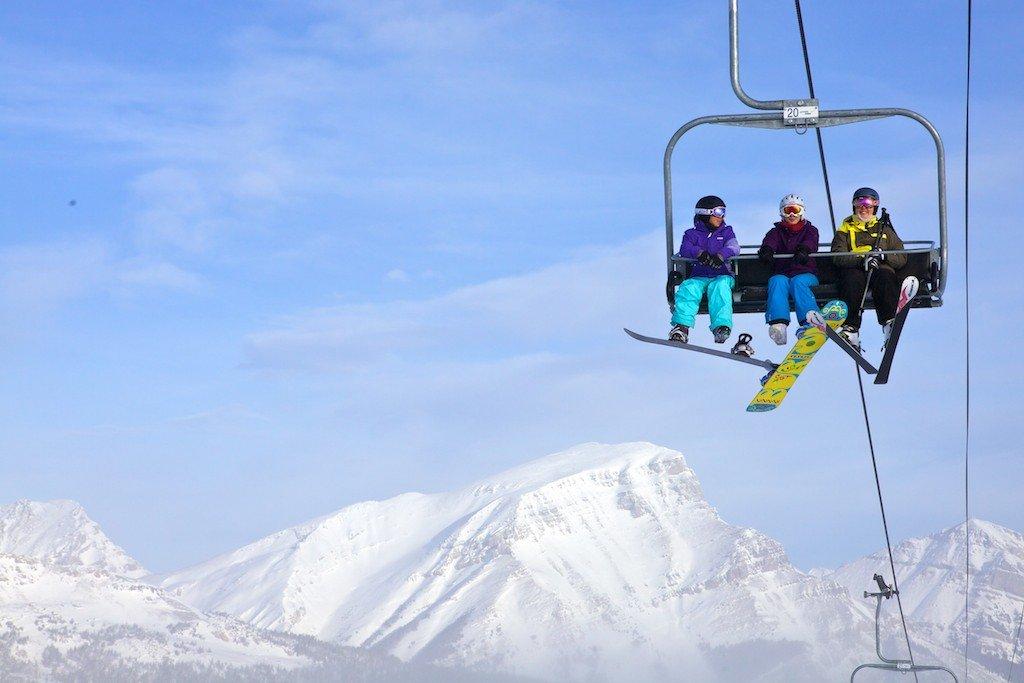 Lifts operate at Sunshine Village until May 19. - ©Sean Hannah/Ski Big 3