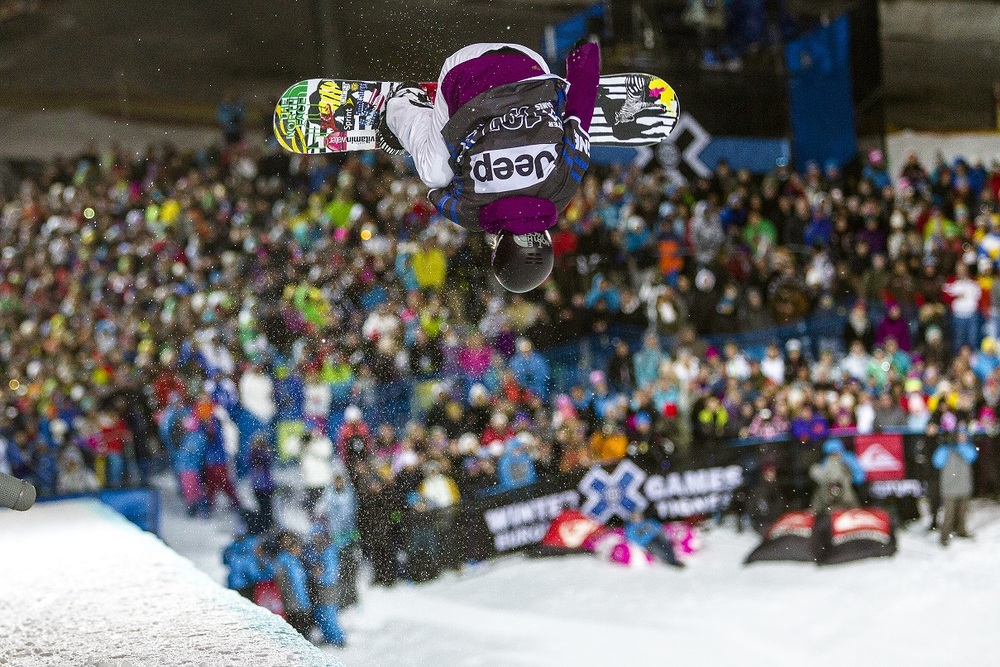 Superpipe Final at Winter X Games Tignes