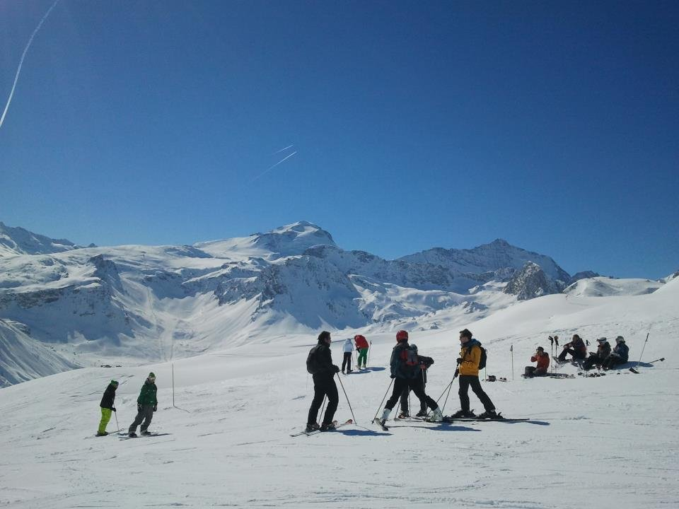 Great conditions in Tignes, March 2, 2013