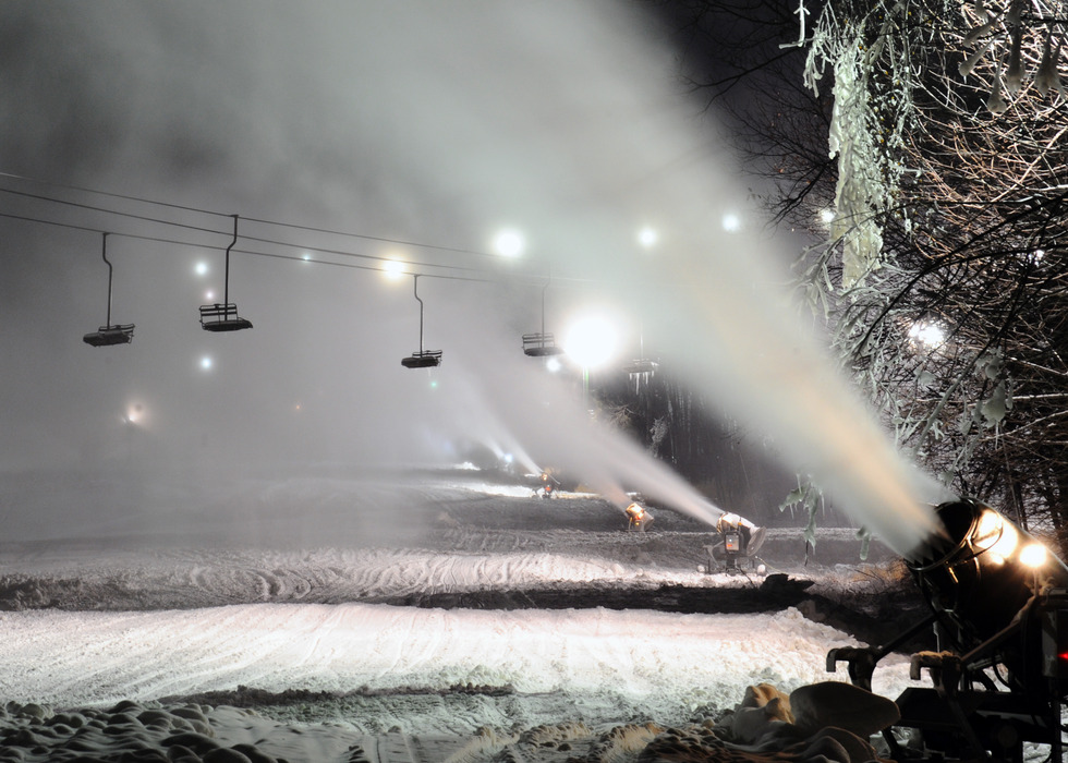 First class snowmaking at Granite Peak Ski Area. - ©Granite Peak Ski Area