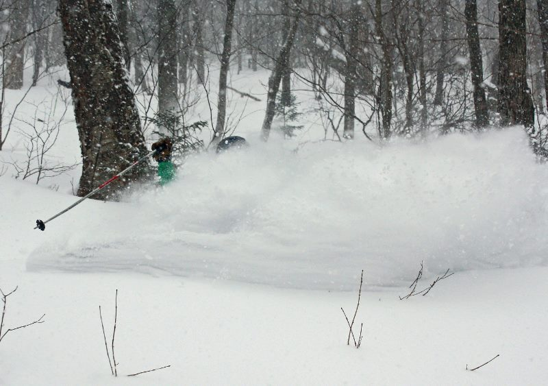 The most recent storm came through in a big way, bringing over a foot of powder to numerous resorts across the region.