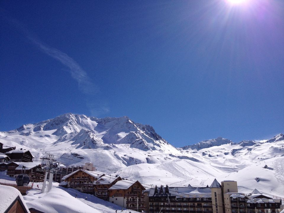 Val Thorens on March 20th, 2013