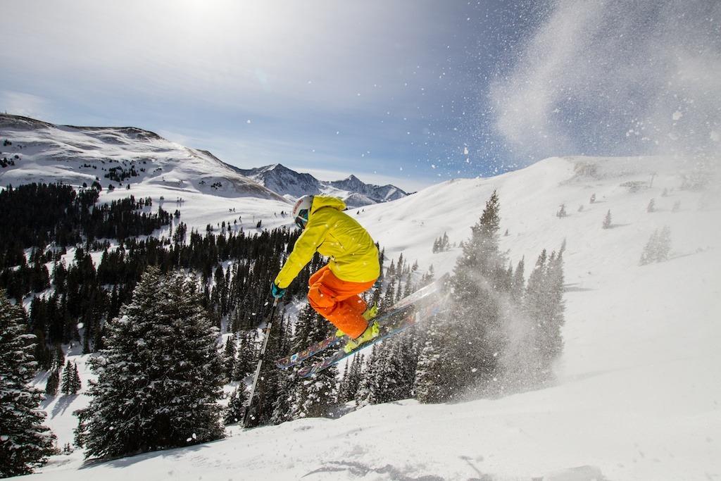 Open Bowls abound at Copper.  Skier: Palmer Hoyt - ©Liam Doran
