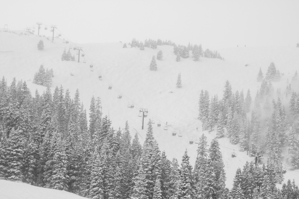 The Sierra Chair in the storm.