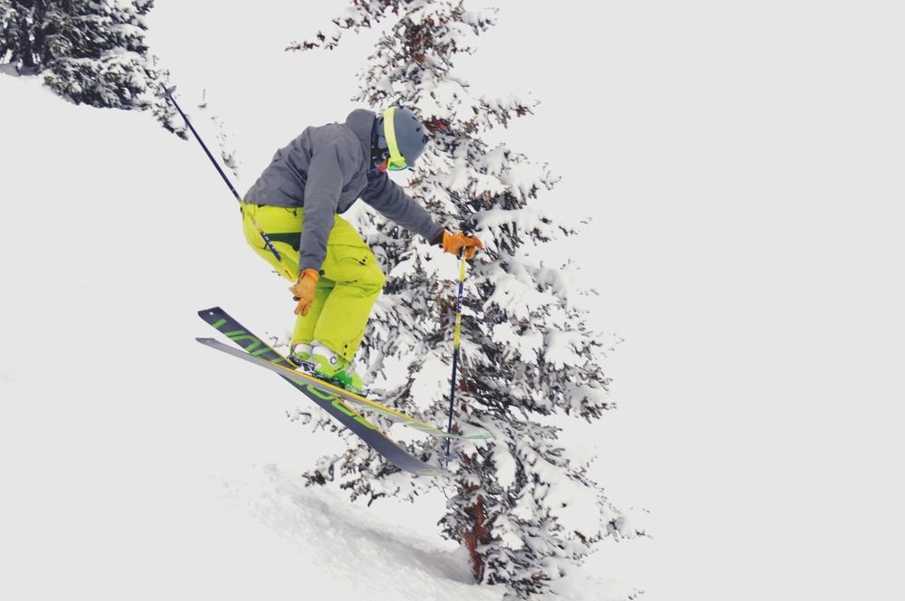 Corbin Redli catches some air at Breck. - ©Josh Cooley