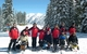 Skiers and volunteers at the Dave Spencer Classic, Durango, CO.