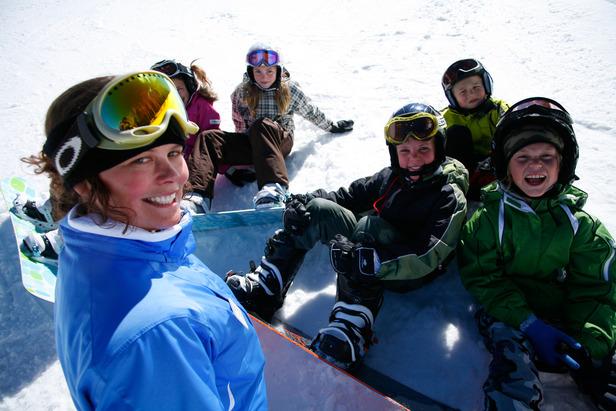 Park City snowboard class