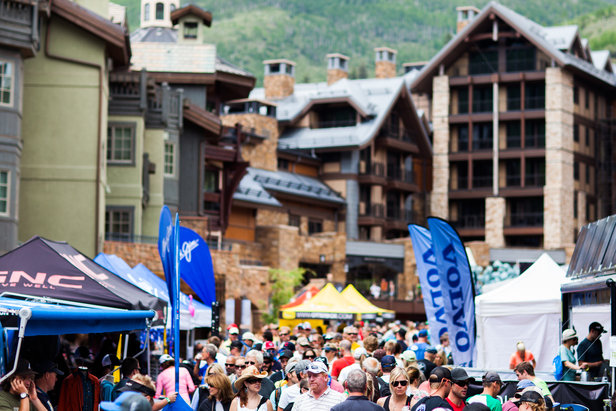 The GoPro Mountain Games takes over Vail Village in June.  - ©Preston Utley