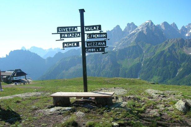 Punto panoramico Dolomiti