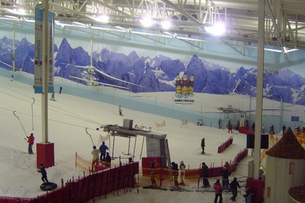 Chill Factore indoor ski centre, UK - ©Chill Factore