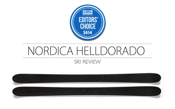 2014 Men Powder Editor Choice Ski: Nordica Helldorado