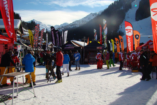 Ako testovať lyže?