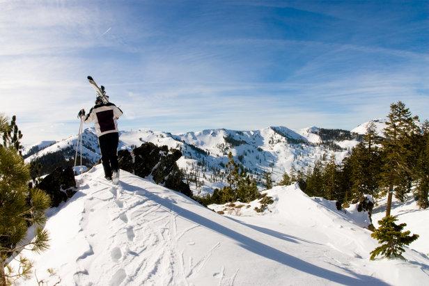 Alpine Meadows mountain views