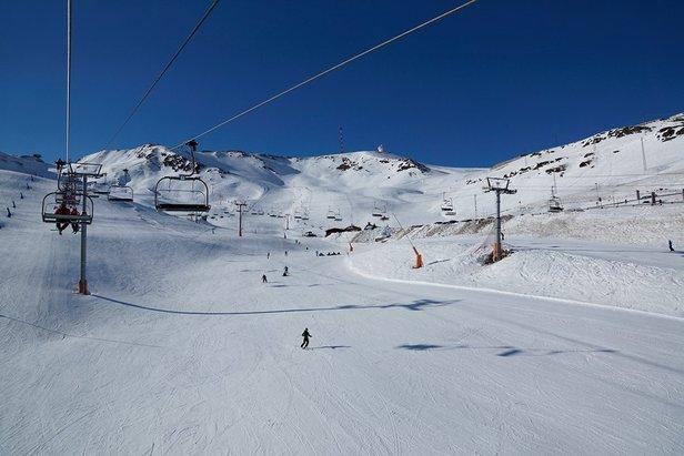 Bluebird conditions in Grandvalira, Andorra Dec. 17, 2013