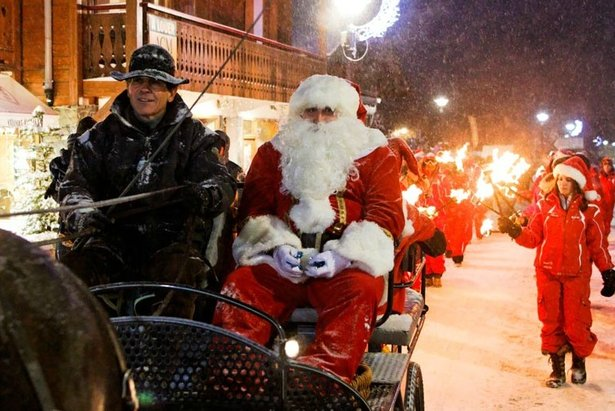 Christmas procession in Les Gets - ©Nicolas HEU / OT Les Gets